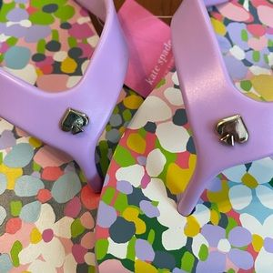 NWT Kate Spade Flip Flops Sz 7